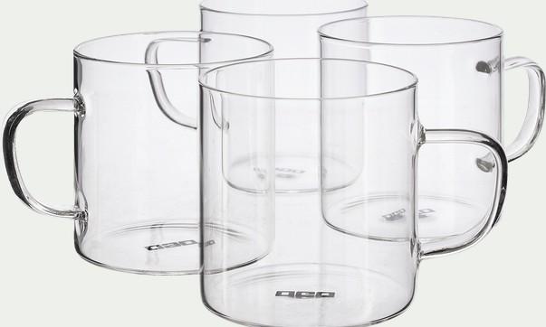 tasses transparentes