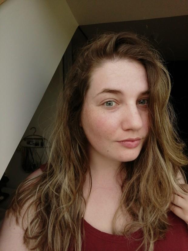 peau démaquillée